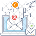 Digital Marketing Online Marketing Sms Marketing Icon
