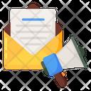 Email Marketing Digital Marketing Publicity Icon