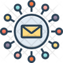 Email Marketing Marketing Newsletter Mailbox Promotion Correspondence Publicity Communication Icon