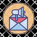 Email Marketing Email Advertising Digital Marketing Icon