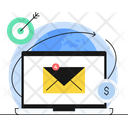 Email Marketing Target Audience Email Campaign Icon