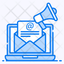 Email Marketing Email Services Email Promotion Icon