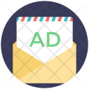 Email Advertising Mail Icon