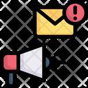 Email Marketing Marketing Advertising Icon