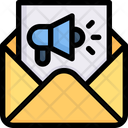Email Marketing News Letter Message Icon