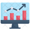 Internet Marketing Online Analytic Chart Icon
