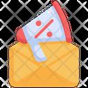 Email Promotion Marketing Icon