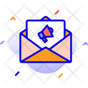 Email Marketing Announcement Email Icon