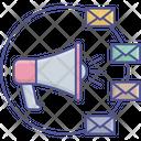 Share Envelope Send Icon