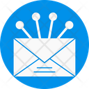 Envelope Share Outbound Icon