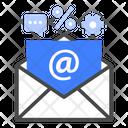 Inbox Marketing Advertising Icon