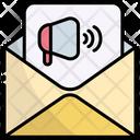 Email Marketing Digital Marketing Promotion Icon