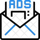 Email Marketing Ads Icon
