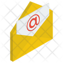 Email Message Mail Written Correspondence Icon