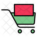 Email Notification Shopping Message Cart Icon