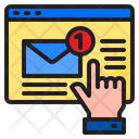 Email Notification Mail Notification Select Icon