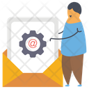 Email Optimization Icon