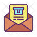 Email Package Receipt Icon