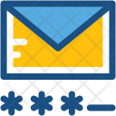 Email Password Login Icon
