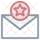 Email Ranking Star Icon