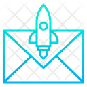 Email Rocket Icon