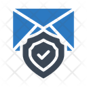 Secure Email Message Icon