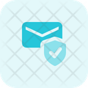 Email Security Secure Mail Mail Shield Icon
