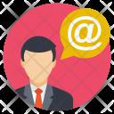 Email Arroba Communication Icon