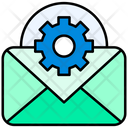 Email Settings Mail Settings Gear Icon