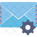 Envelope Gear Email Icon