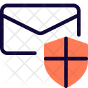 Email Shield Mail Shield Email Security Icon