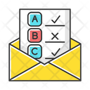 Email Survey Icon
