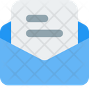Email Text Mail Text Mail Icon
