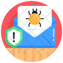 Spam Email Mail Alert Caution Mail Icon