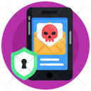 Mobile Threat Email Threat Mobile Message Icon