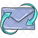 Email Transformation Send Message Text Icon
