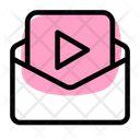 Email Video Mail Video Online Video Icon