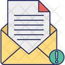 Email Virus Infected Mail Junk Mail Icon