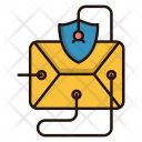 Email Virus Threat Icon