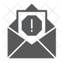 Email Virus Security Icon