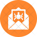 Email Virus Junk Mail Malware Icon