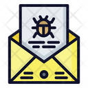 Email Virus Virus Email Notification Icon
