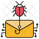 Email Virus Attack Icon