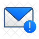Email Warning Email Message Icon