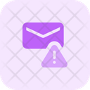 Email Warning Email Alert Mail Elert Icon
