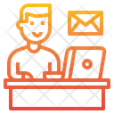 Email Working Icon