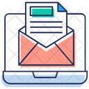 Emarketing Email Campaign Email Marketing Icon
