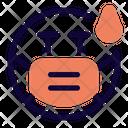 Embarrassed Emoji With Face Mask Emoji Icon