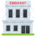Embassy Building Government Icon