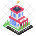 Embassy Government Building Consulate Icon
